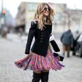 Street style : plein soleil pour la clôture de la Fashion Week de New York