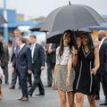 Sasha et Malia Obama imposent leur style à Cuba
