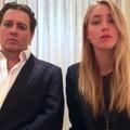 """Johnny Depp et Amber Heard reconnaissent leur """"terrible erreur"""" dans une vidéo insolente"""