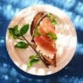 Tartines de thon frais par Cyril Lignac