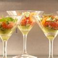 Nos plus belles idées recettes de verrines salées pour briller à l'apéro à Noël