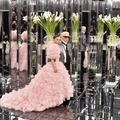 Lily-Rose Depp mariée haute couture au défilé Chanel printemps-été 2017
