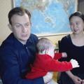 L'expert de la BBC, sa femme et leurs enfants