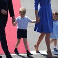 À Berlin, le prince George et la princesse Charlotte traînent le mocassin