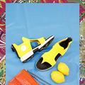 Notre sélection d'accessoires pour une silhouette au colorama pop et gourmand