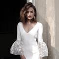 Rime Arodaky nous présente sa collection de robes de mariée 2018