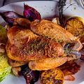 Version palace ou rustique chic, le poulet superstar