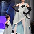 Ioni Conran, 3 ans, fait fondre le public du défilé Jean Paul Gaultier