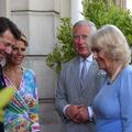 Le prince Charles et Camilla Parker Bowles accueillis par le couple Estrosi à Nice