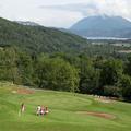 Randonnée club en main au golf de Giez