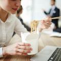 Manger sain lorsque l'on a très peu de temps pour déjeuner, c'est possible