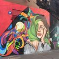 Sur les murs de Santiago du Chili, un hymne coloré à la femme