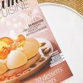 """Madame Figaro Cuisine """"Spécial fêtes"""", à retrouver en kiosque, sur la Toile et les réseaux sociaux"""