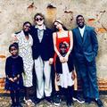 Madonna poste une rare photo de ses six enfants réunis