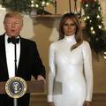 """La carte de vœux façon """"Shining"""" du couple Trump a été envoyée"""
