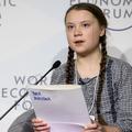 La jeune militante écolo Greta Thunberg a mis 32 heures pour rallier Davos en train