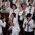Discours sur l'état de l'Union : toutes en blanc, la couleur des femmes qui en imposent