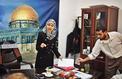 Mlle Israa al-Mudallal, nouveau visage du Hamas