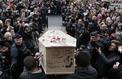 Les funérailles des dessinateurs de Charlie Hebdo