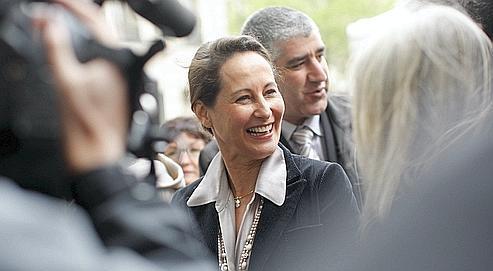 Ségolène Royal, en mars dernierà Paris.