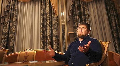 Ramzan Kadyrov en décembre 2009.