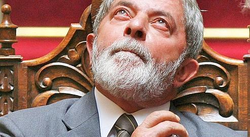 Luiz Inacio Lula da Silva en décembre 2007.