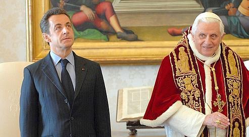 La première rencontre, au Vatican, du chef de l'État avec le pape Benoît XVI s'était déroulée le 20 décembre 2007.