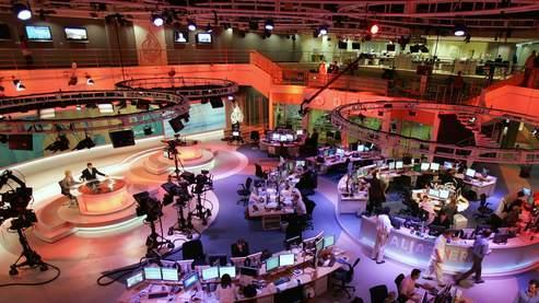 Basée à Doha, la chaîne emploie environ 400 journalistes. Crédit photo: AFP