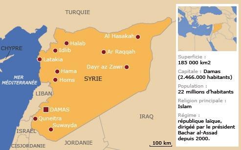 Le régime syrien et le parti Baas<br/>