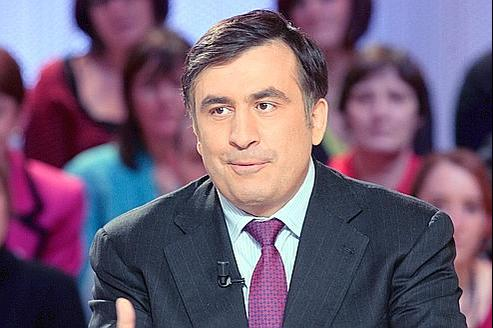 Mikhaïl Saakachvili en 2008.