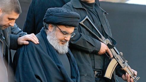 Le chef du Hezbollah libanais, Hassan Nasrallah, à Beyrouth, le 6 décembre dernier. Photo: HAMZEH/EPA/MAXPPP