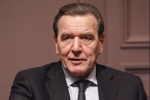 L'ancien chancelier social-démocrate allemand Gerhard Schröder.