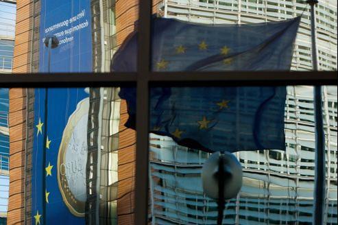 Le Berlaymont, siège de la Commission européenne, à Bruxelles.