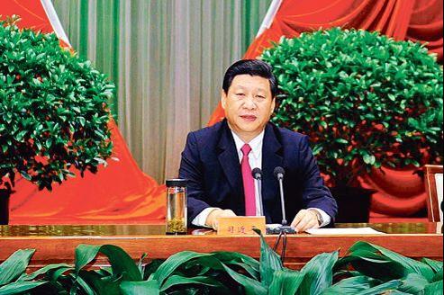 Xi Jinping, ici à Pékin, le 1er septembre dernier, présidera la Chine à partir du printemps prochain, pour un mandat de cinq ans.