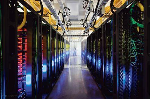 L'un des datacenter de Google. Le marché du stockage de données, qui devrait croître de 30% par an jusqu'en 2020, est un relais de croissance très convoité.