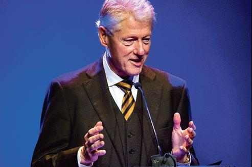 Bill Clinton, le 15novembre, pour l'ouverture des «24heures de la publicité» à Amsterdam.