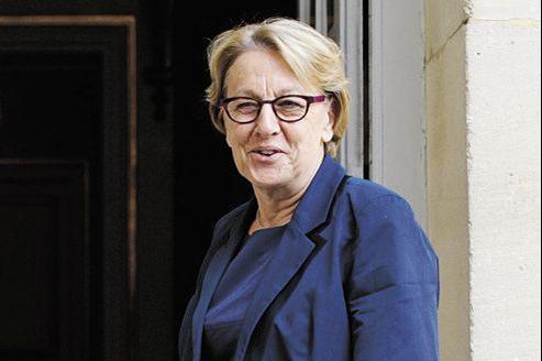 Marylise Lebranchu, ministre de la Réforme de l'État et de la Décentralisation, porte le projet de la métropole marseillaise.