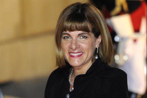 Anne Lauvergeon à l'Élysée, en 2010.