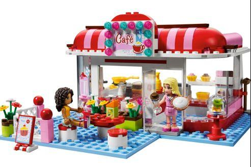 Le Café, de Lego Friends.