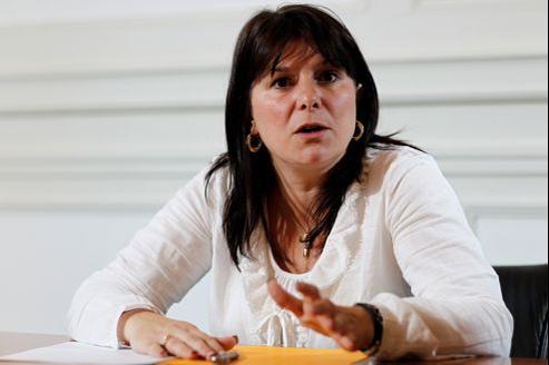 Virginie Gensel-Imbrecht, secrétaire générale de la Fédération CGT mines-énergie.