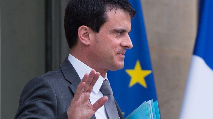 Manuel Valls, le 14 mai.