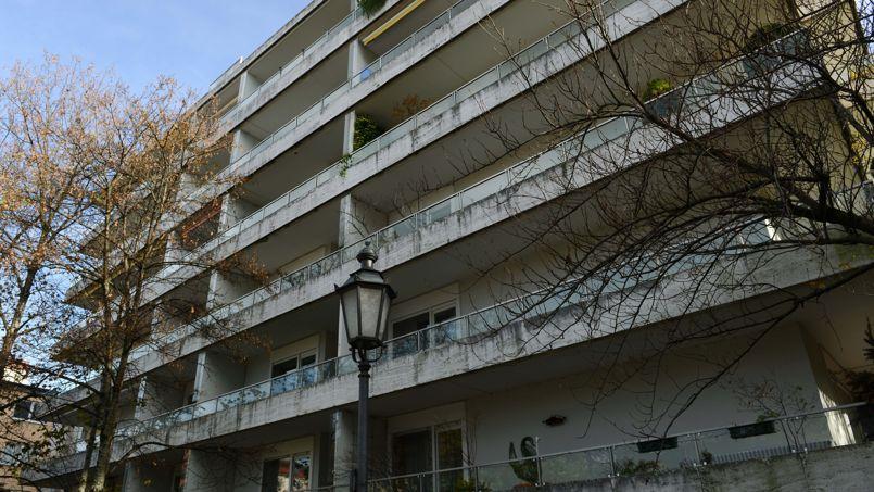 L'immeuble de Munich où ont été retrouvées les toiles de maître, cachées dans un appartement derrière des boîtes de conserve.
