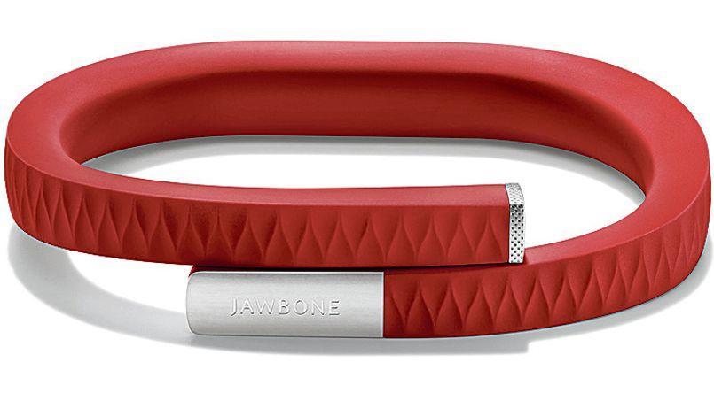 Le bracelet connecté Jawbone Up.