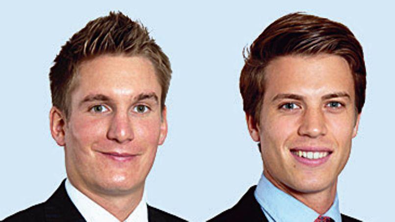 Alexis Garavel et Henry de Bennetot ont fondé leur start-up SunEos.
