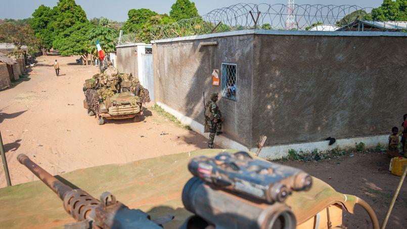 En Centrafrique, avec les forces spéciales