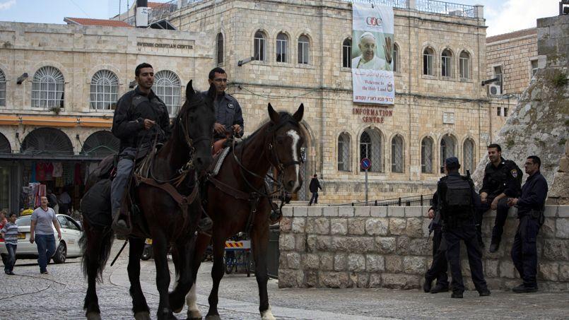La ville de Jérusalem s'appête à recevoir le Pape.