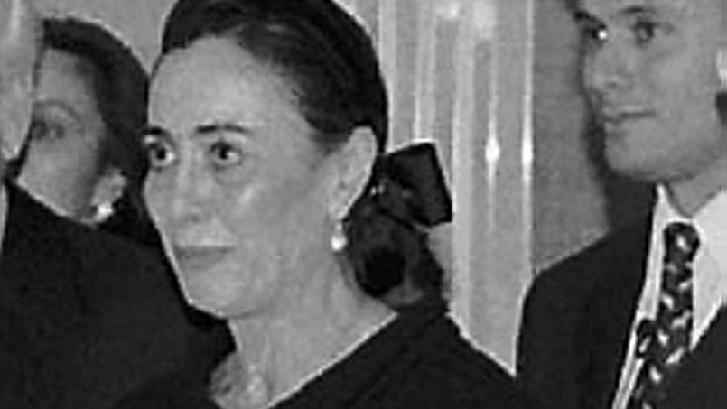 La riche héritière monégasque, Hélène Pastor.