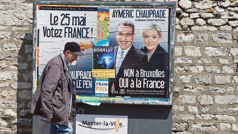 Sortie victorieuse des municipales, l'UMP n'a pas profité de la dynamique qu'aurait pu lui procurer ce bon résultatDans une rue de Mantes-la-Ville (Yvelines), le 16 mai.