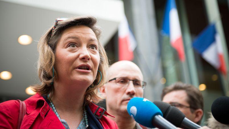 Ludovine de la Rochère, présidente de la Manif pour tous, attend depuis un mois d'être reçue au ministère del'Éducation nationale.