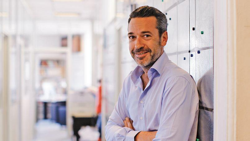 Matthieu Croissandeau, directeur du <i>Nouvel Observ</i><i>ateur</i>.